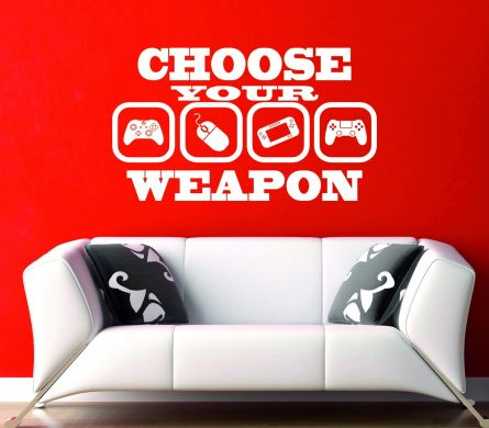 Choose Your Weapon Gaming PC Ps4 Xbox Wii U