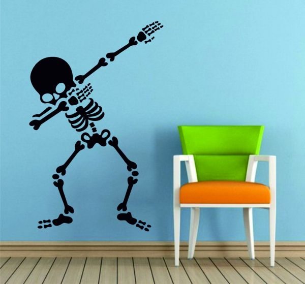Dab Skeleton Funny Dance Scary Dabbing Till Death